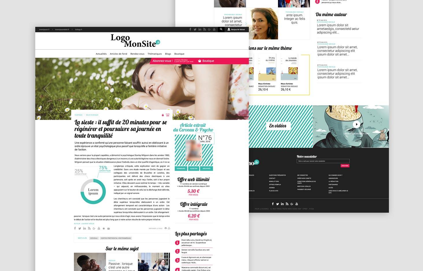 Site de presse